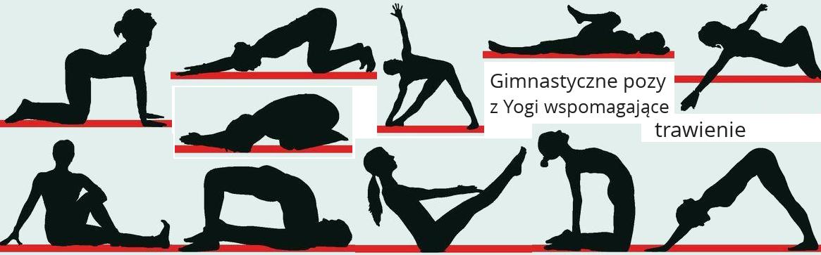 Gimnastyka, Joga na trawienie