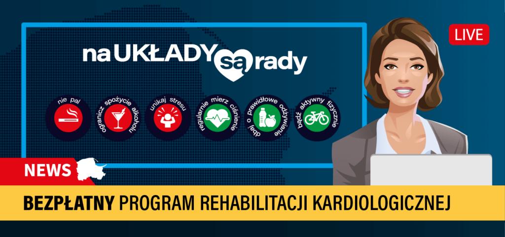 <i>Na układy są rady</i> – Bezpłatny program kompleksowej rehabilitacji kardiologicznej dla Pomorzan
