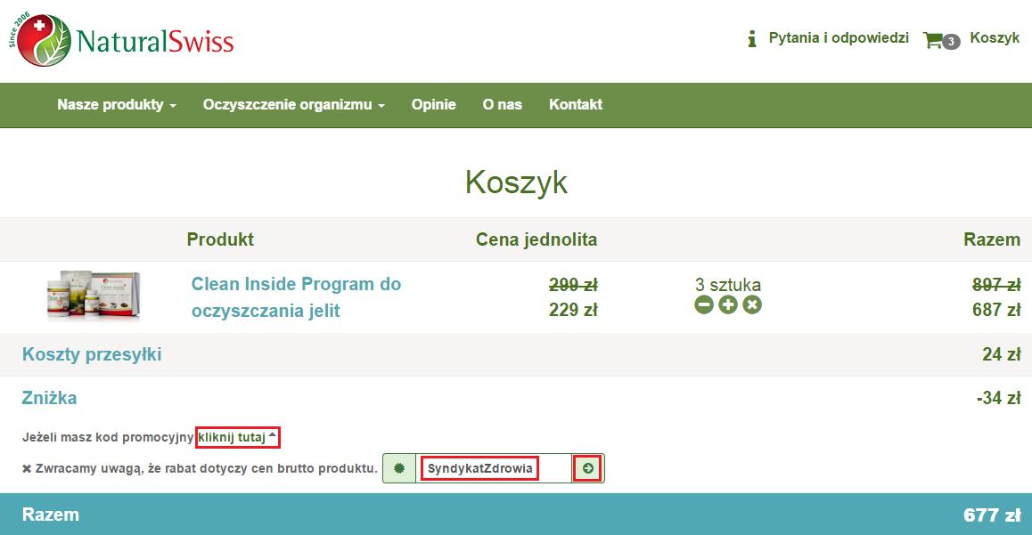 Cleaninside.pl Kd rabatowy SyndykatZdrowia