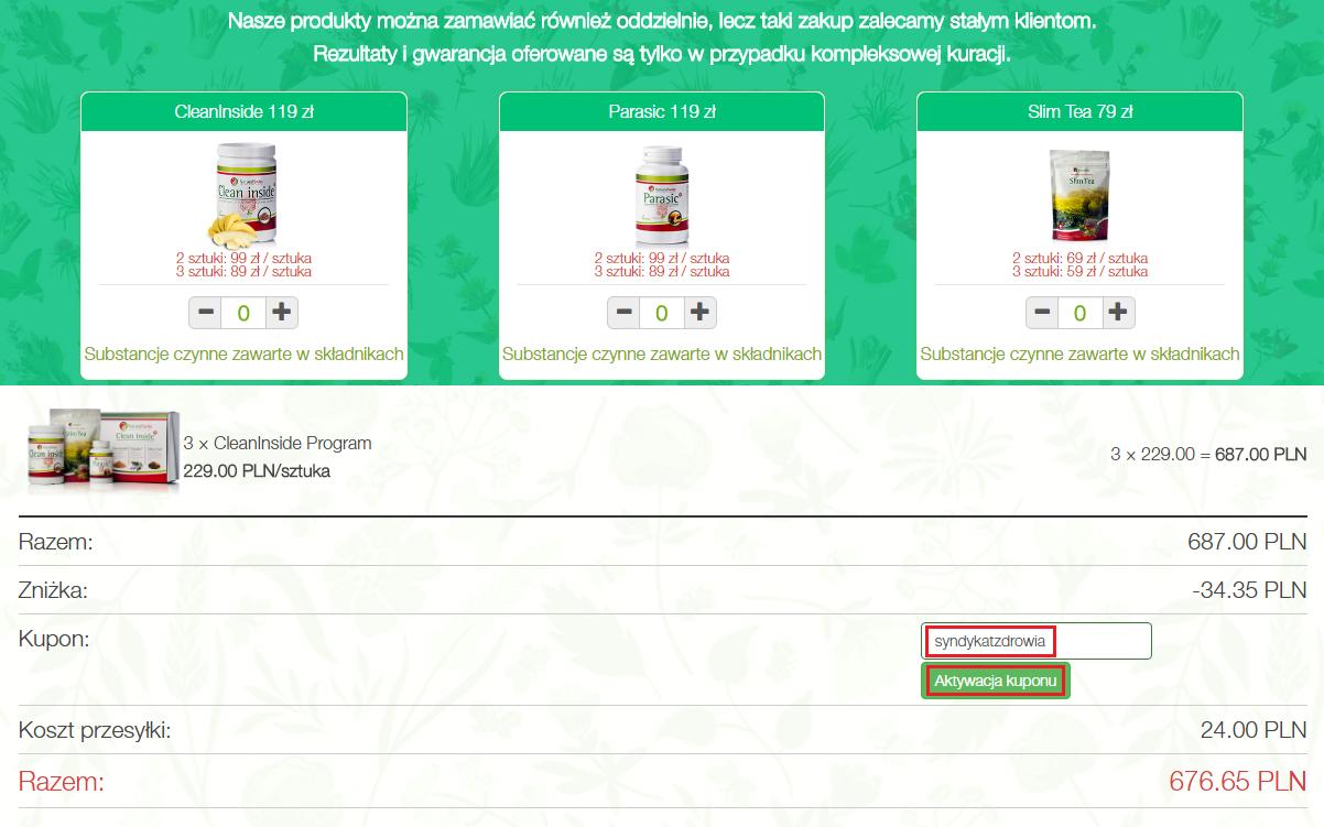 Naturalswiss.pl Kod rabatowy SyndykatZdrowia