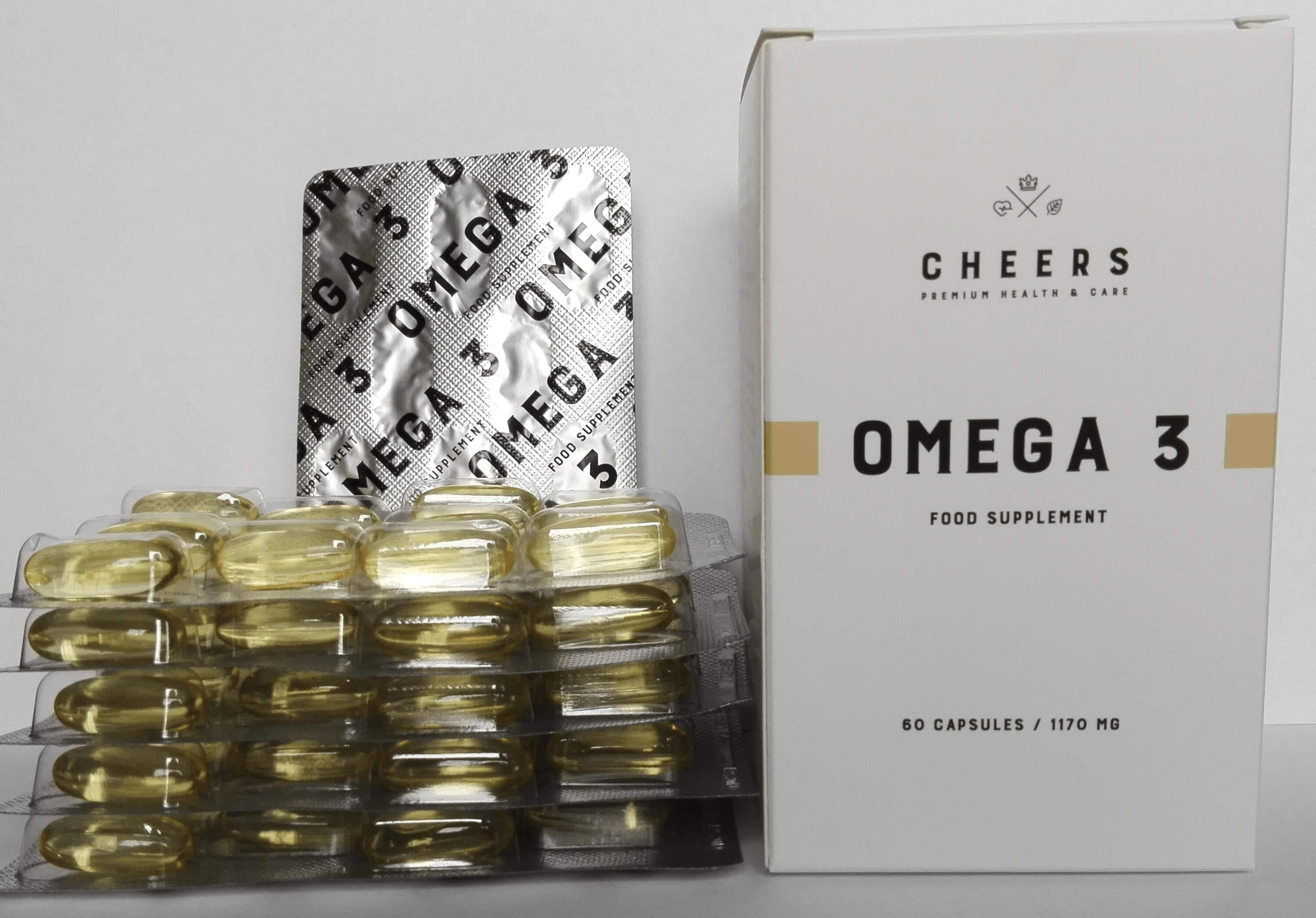 Omega 3 Cheers