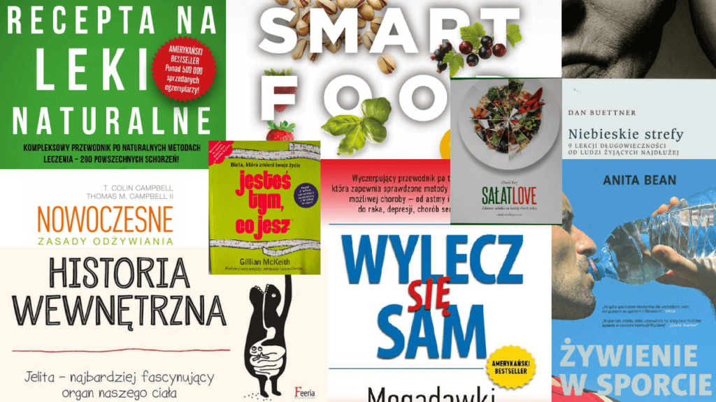 <i>Najlepsze</i> książki o zdrowiu, diecie i żywieniu. Bestsellerowe publikacje prozdrowotne RANKING, SPIS, LISTA <b>TOP 17</b>